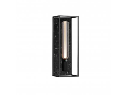 CAGED wall light 1.0 LARGE New Black Marble