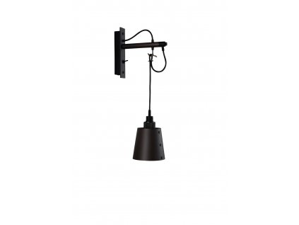 buster punch hooked wall small graphite shade brass details 13