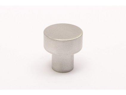 dot 18 knob brushed aluminium