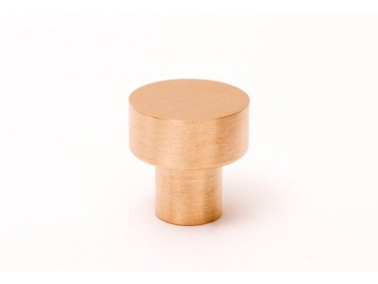 dot 18 knob brushed brass