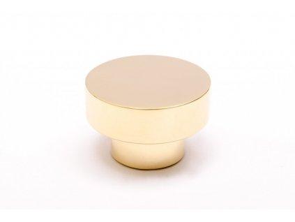 dot 30 knob hook polished brass