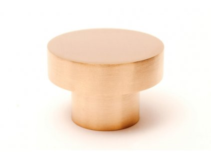 dot 50 knob hook brushed brass