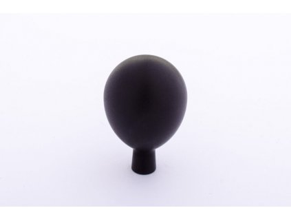 drop 20 knob black aluminium