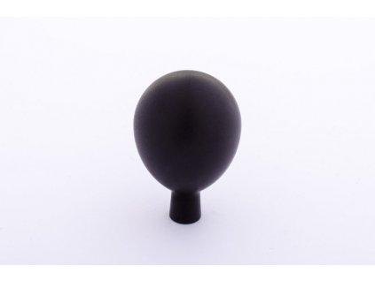 drop 20 knob black aluminium