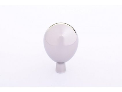 drop 20 knob polished stainless steel