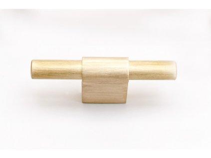 line 60 knob brushed brass 49899
