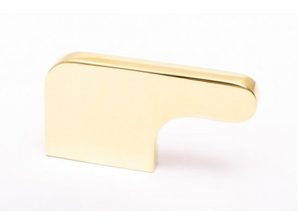 soft cut knob polished brass 3 20536