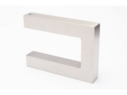 square wall hanger brushed stainless steel 96345