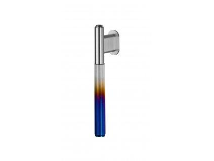 Linear L Bar Single BurntSteel
