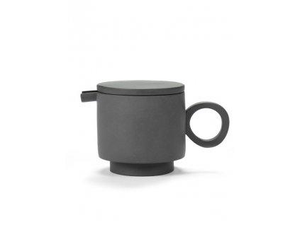 _TEA POT (Barva - varianty Stříbrná, Materiályy Keramika)