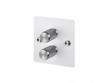 Toggles Dimmers Side Cut Outs 0004s 0000 2G White Steel