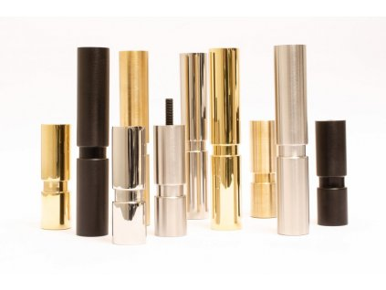 cylinder 100 leg polished brass