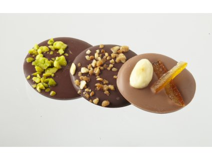 Čokoládové terče 5ks