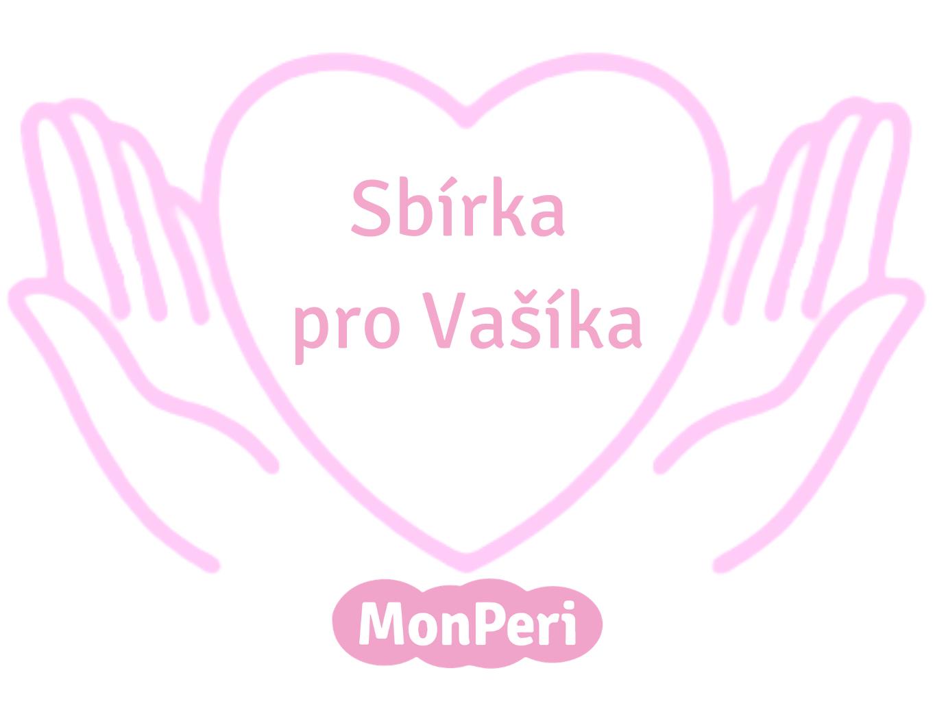 Sbírka pro Vašíka a děti s EB - Pomáháme s MonPeri