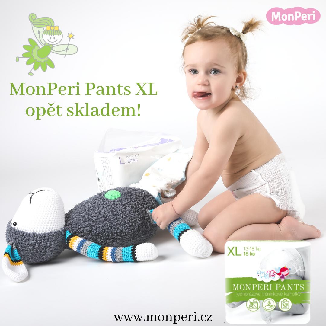 MonPeri Pants XL opět skladem