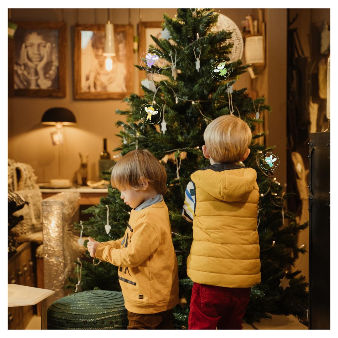 Vánoční dárky a miminka