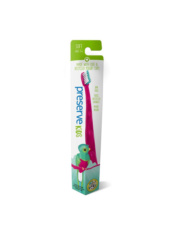 preserve-recyklovatelna-detska-zubna-kefka-soft-quetzal-bird