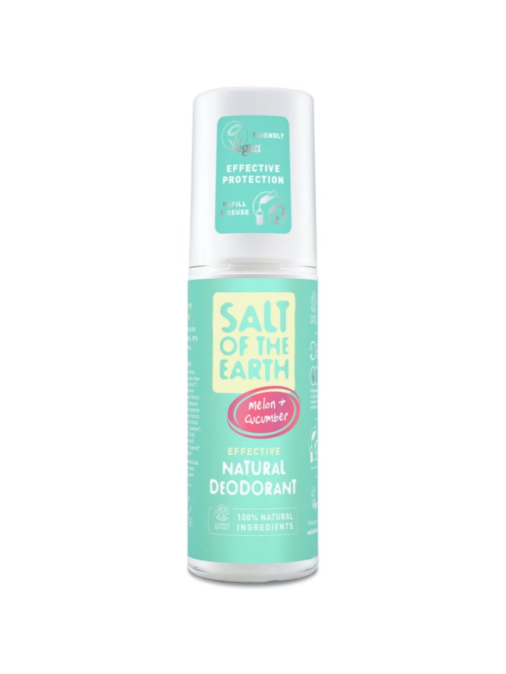 salt of the earth deozodorant melon cucumber 100ml
