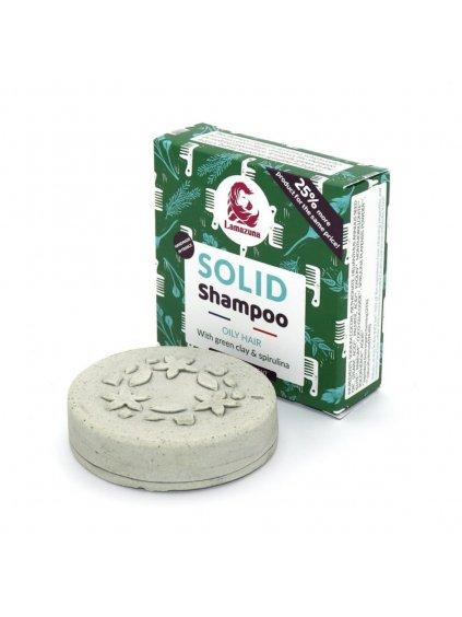 lamazuna-tuhy-sampon-pre-mastne-vlasy-zeleny-il-spirulina-70g