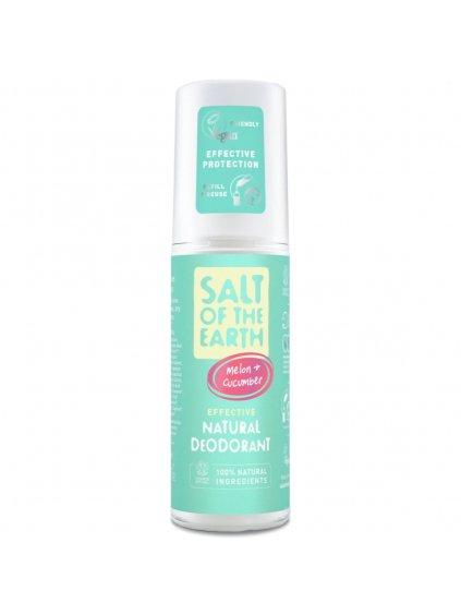 salt of the earth deozodorant melon cucumber 100ml