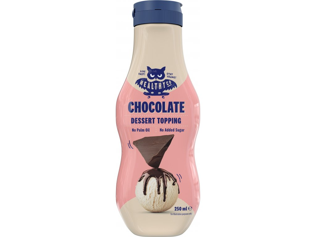 Healthyco Topping Chocolate 250ml.1