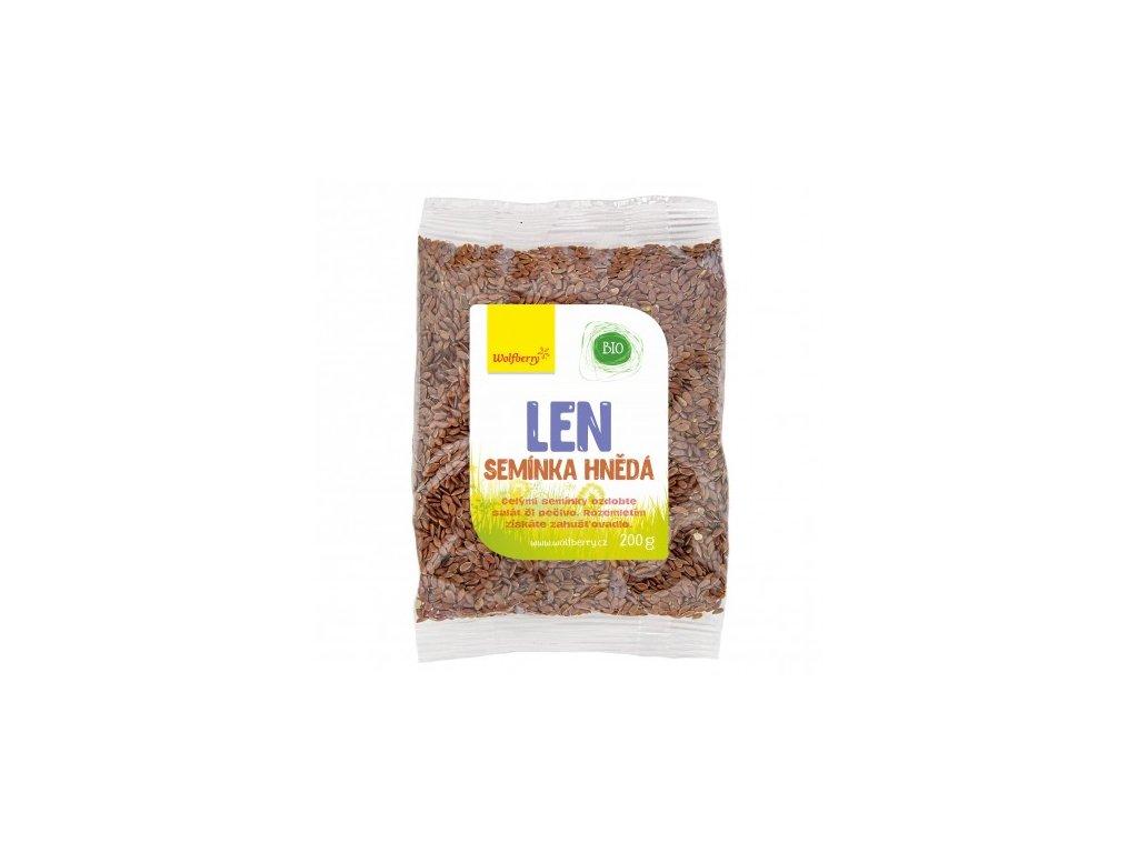 lnene seminko hnede wolfberry bio 200 g