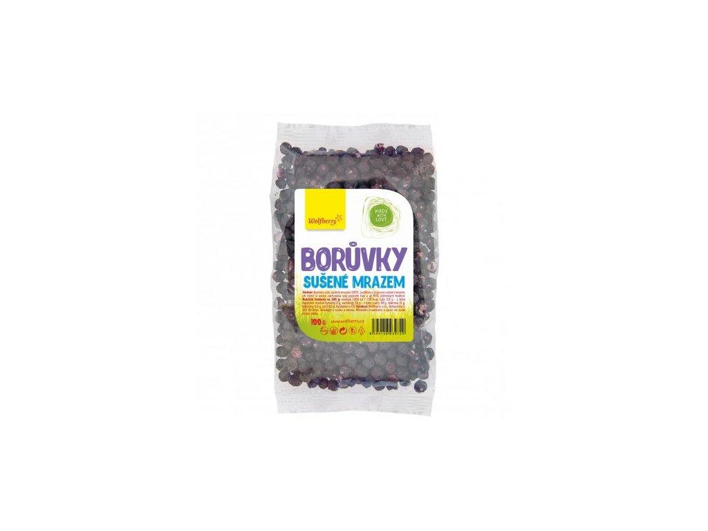 boruvky lyofilizovane 100 g wolfberry