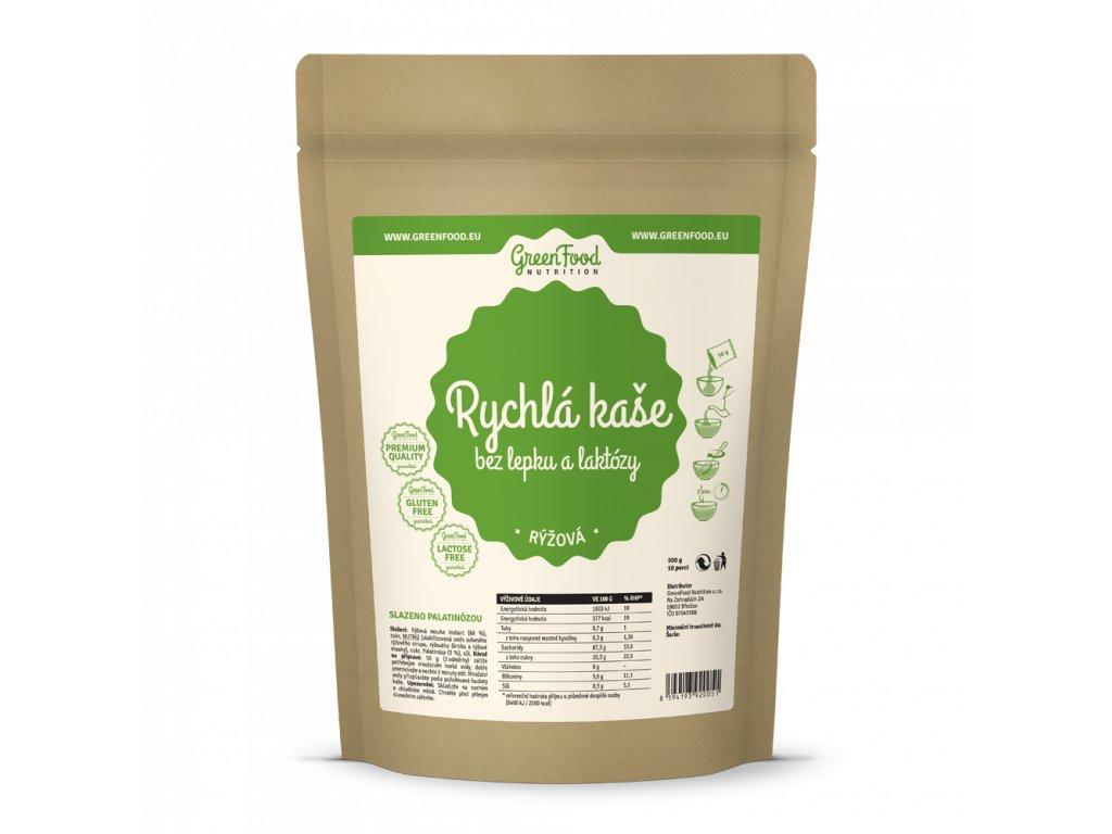 greenfood nutrition rychla kase bez lepku a laktozy ryzova
