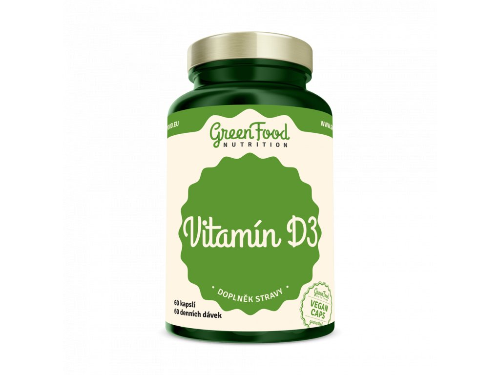 greenfood nutrition vitamin d34