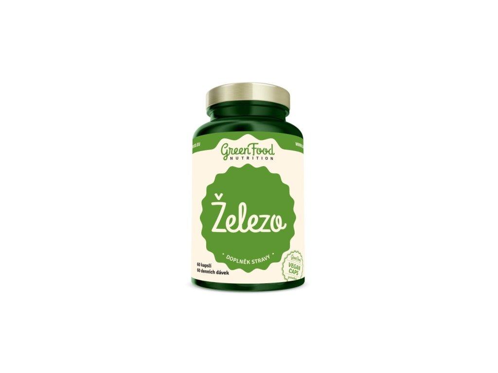 greenfood zelezo 60kapsli