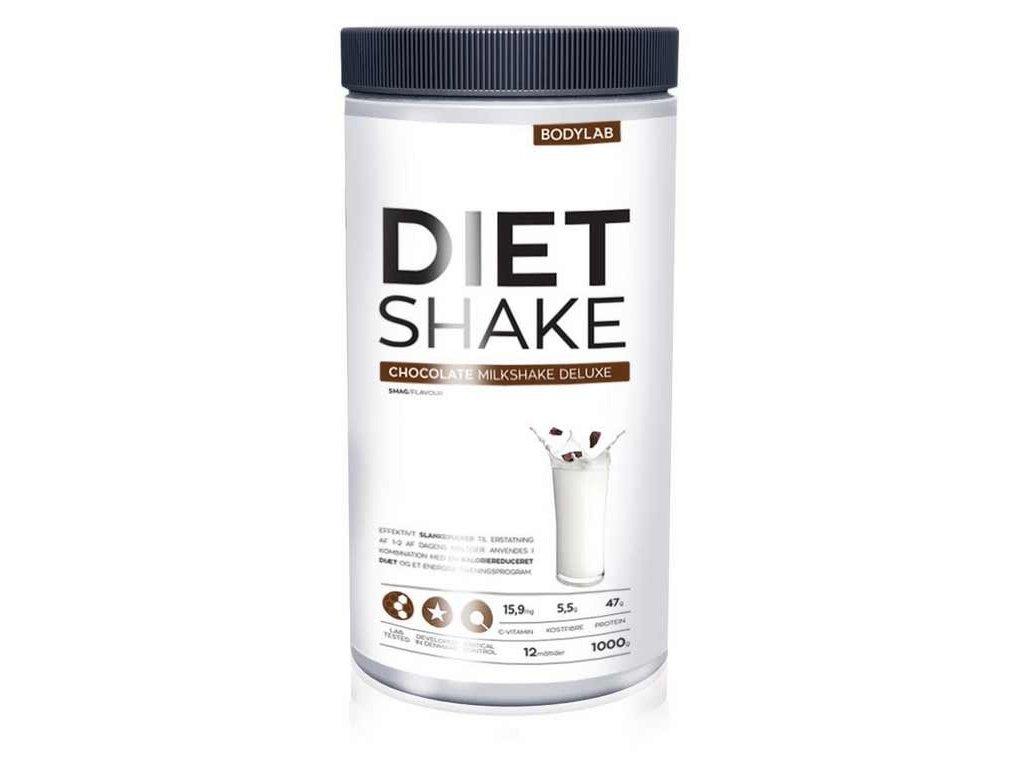 bodylab diet shake choc