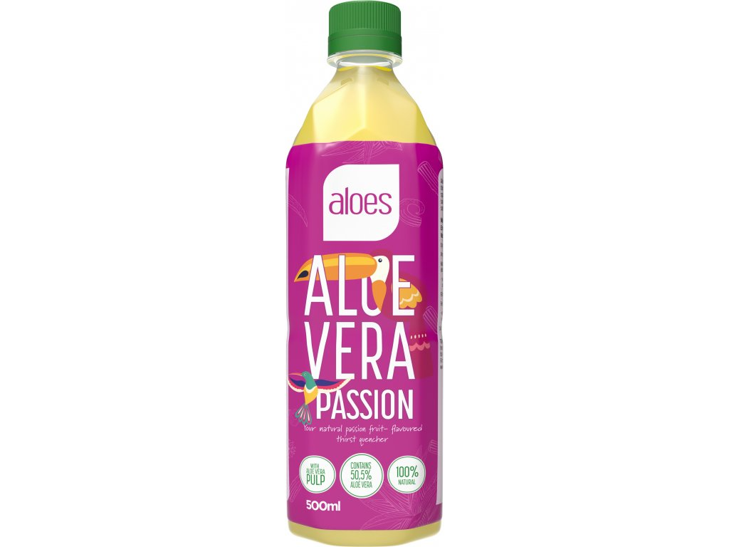 Aloes AloeVera Passion 500ml.1