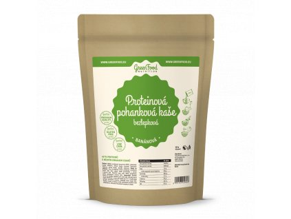 greenfood nutrition proteinova pohankova kase bezlepkova bananova