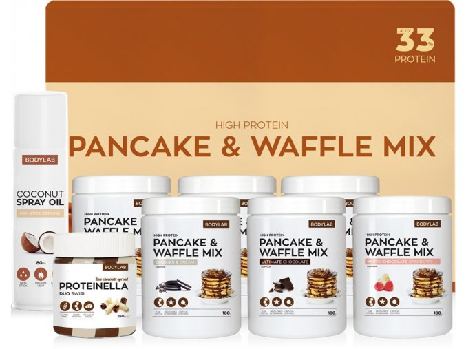 bodylab pancake waffle mix box 4