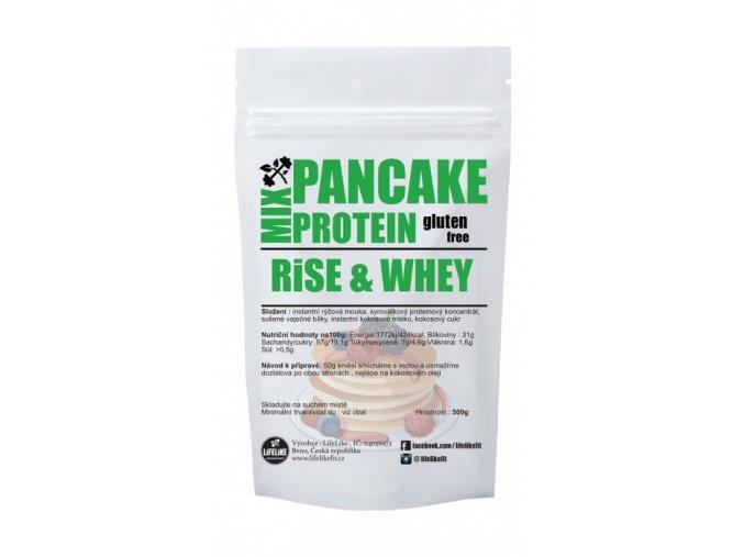 lifelike pancake rice whey