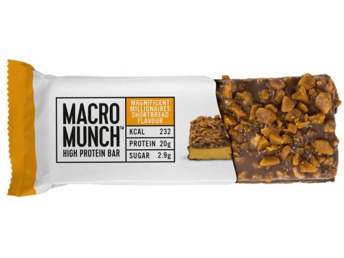 bulk powders macro munch high protein bar 62g original2
