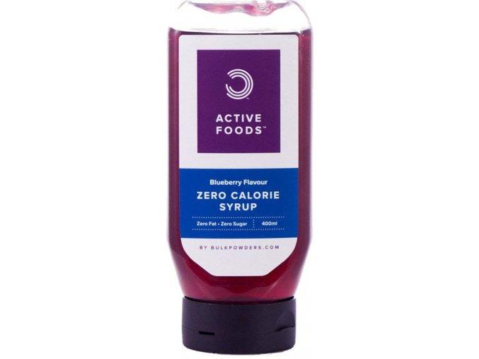 bulk powders zero calorie syrup