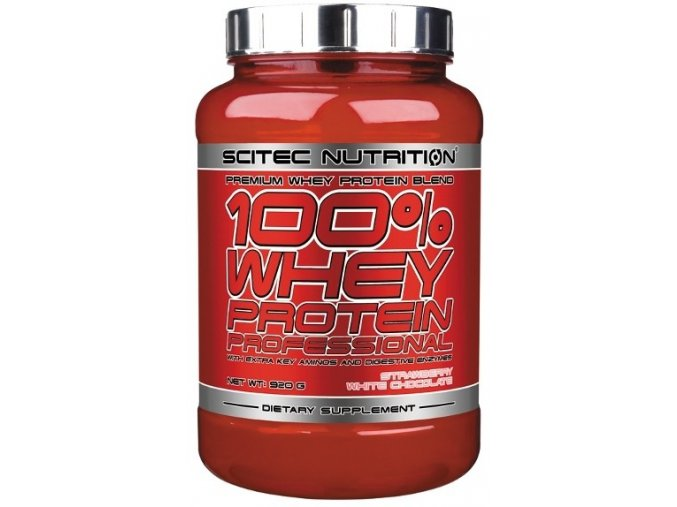 scitec nutrition 100 whey protein professional 920