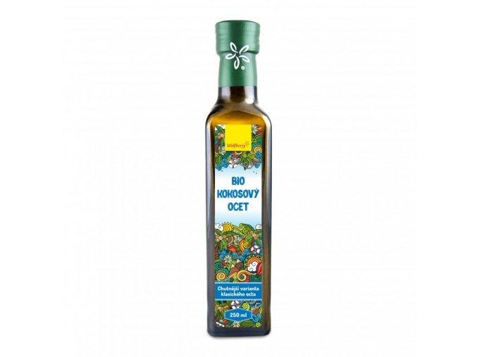 kokosovy ocet wolfberry bio 250 ml