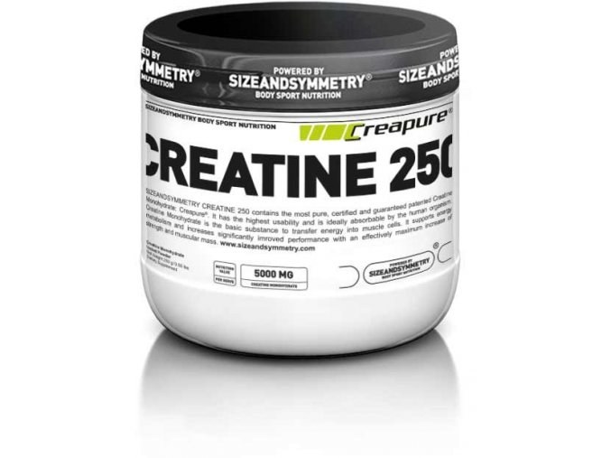 sizeandsymmetry creatine creapure 250g
