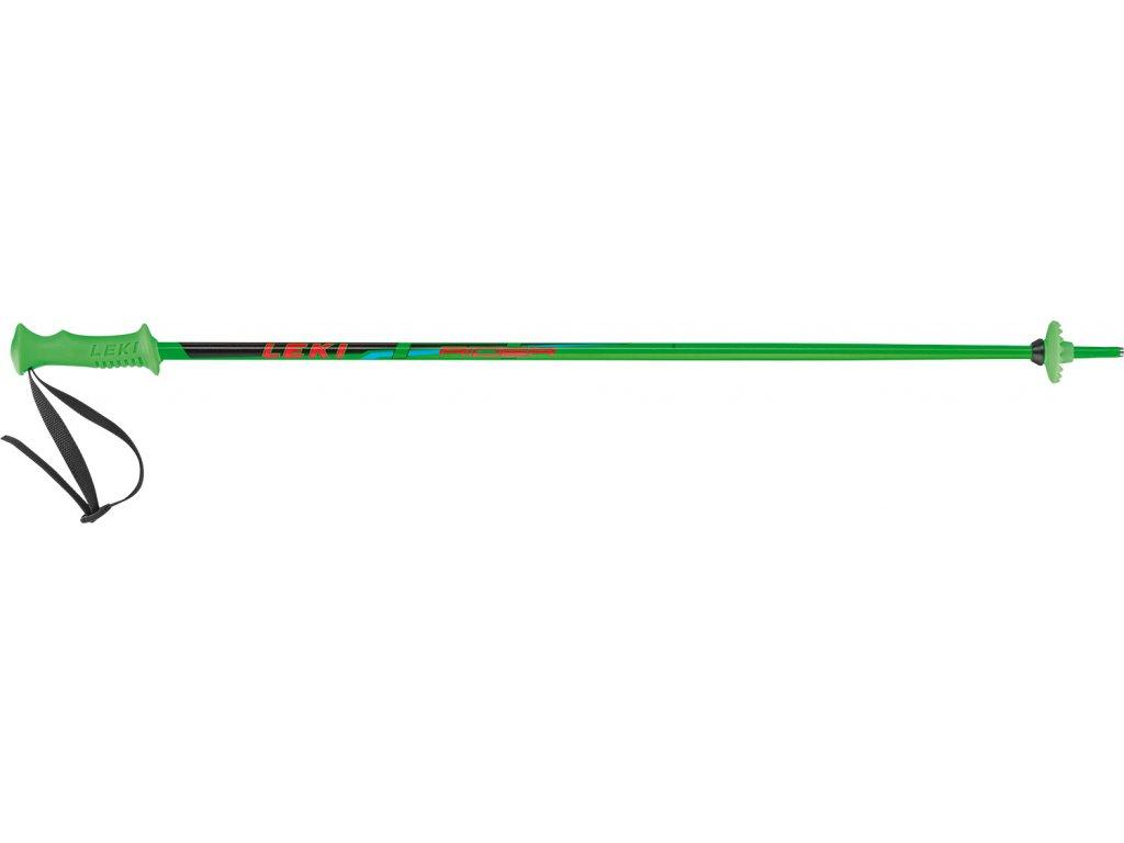 Dětské hole Leki RIDER, neon green