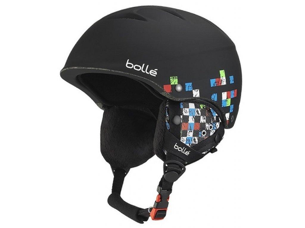 Helma J Bollé B FREE, soft black checker