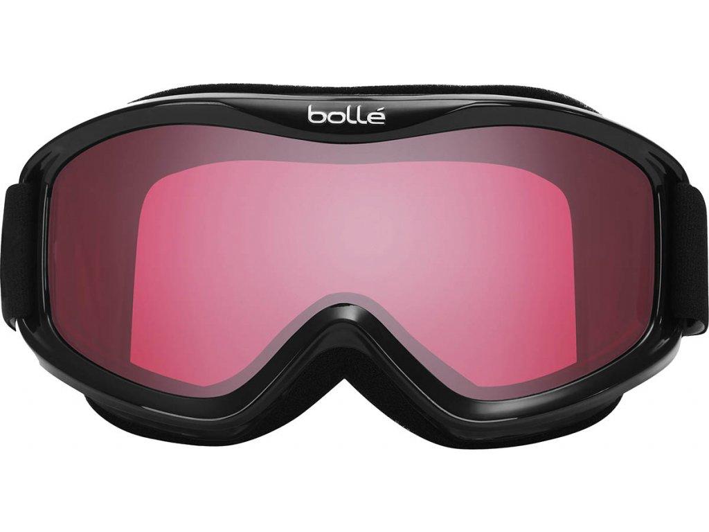 Brýle Bollé MOJO, shiny black, vermillon
