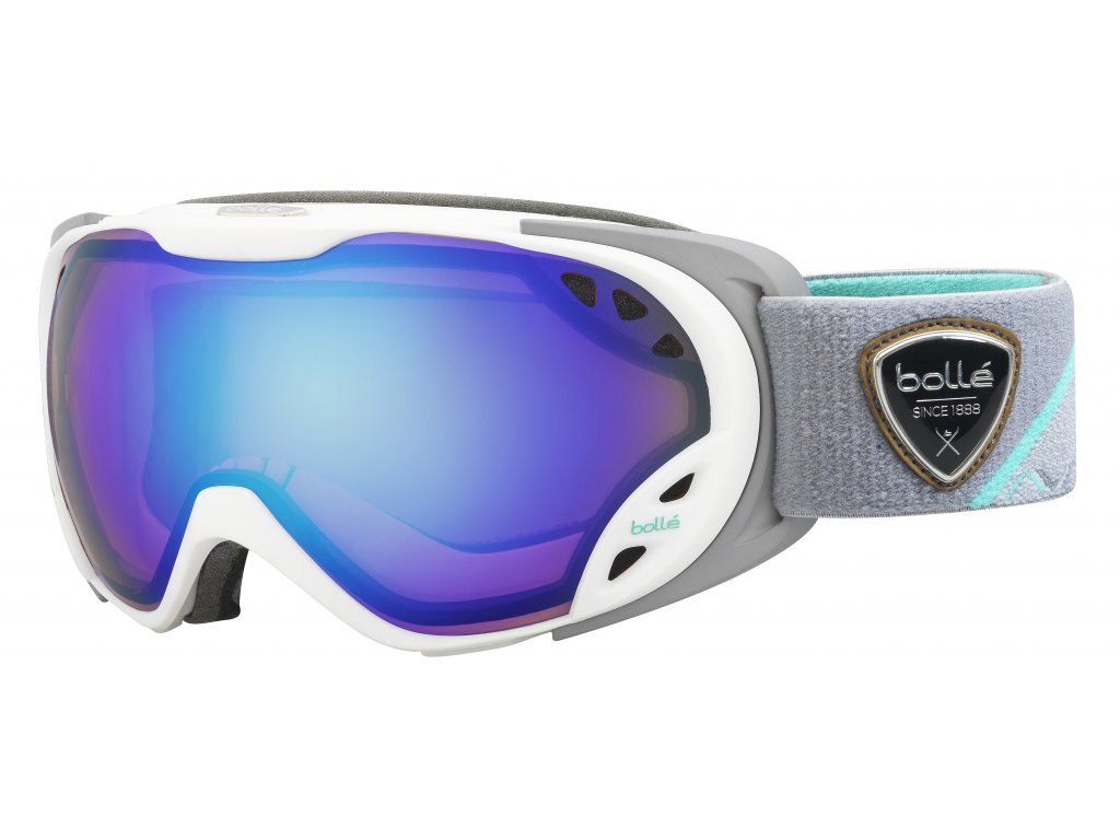 Brýle Bollé DUCHESS, white grey, aurora
