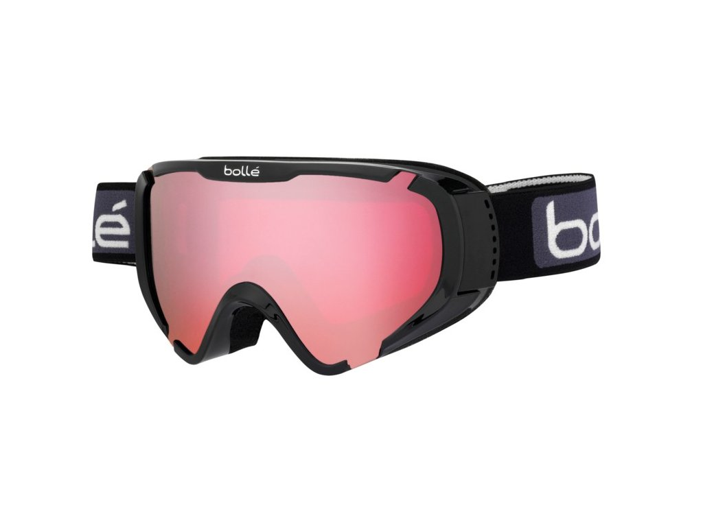 Brýle J Bollé EXPLORER, shiny black, vermilon gun