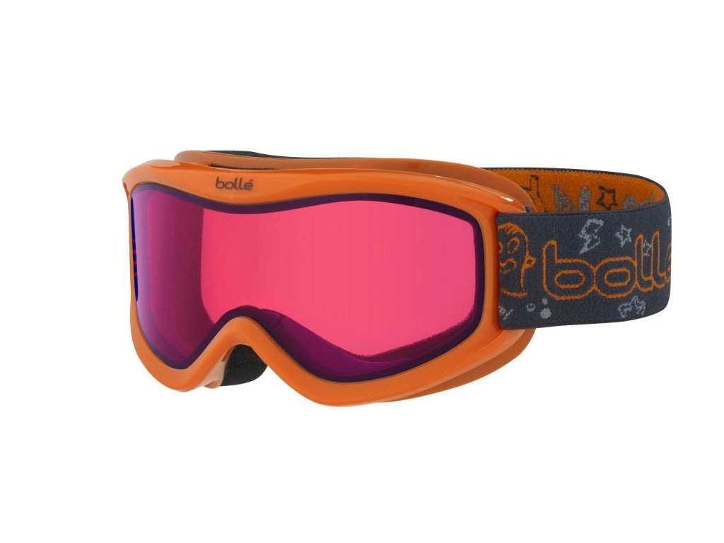 Brýle J Bollé AMP, orange monster, vermilon
