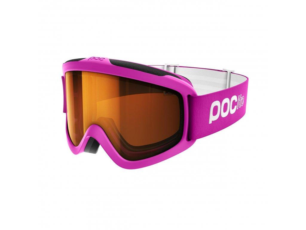 Brýle POC POCITO IRIS, fluorescent pink