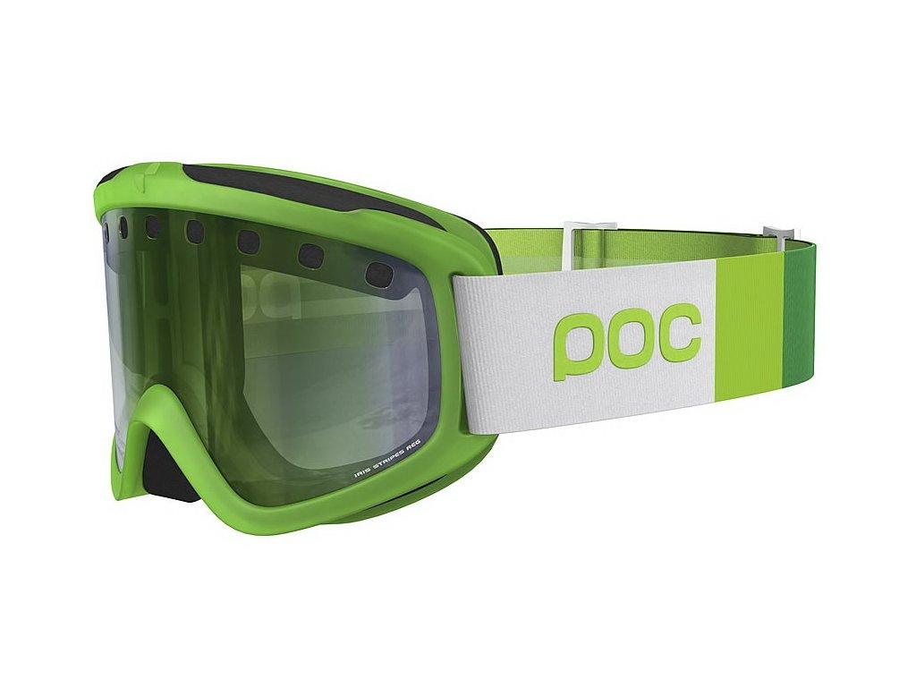 Brýle POC IRIS STRIPES, lodine green