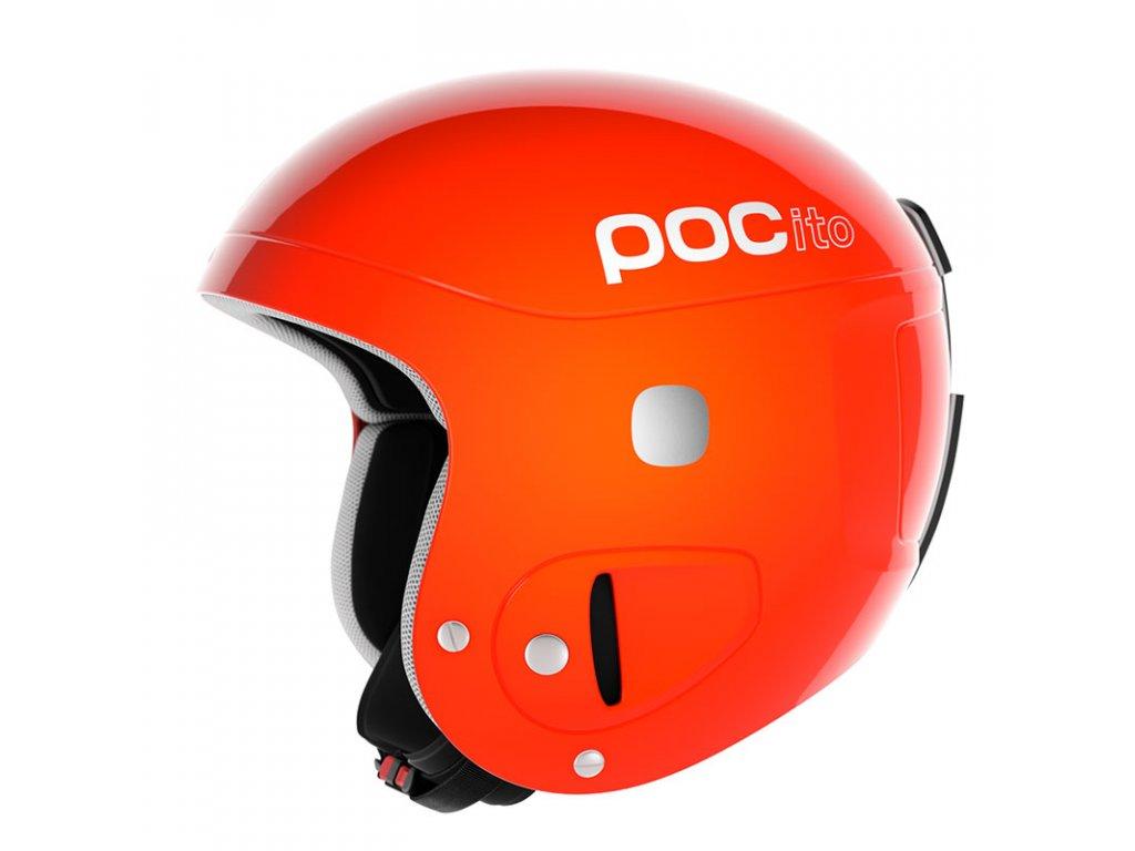 Dětská helma POC POCITO, fluorescent orange