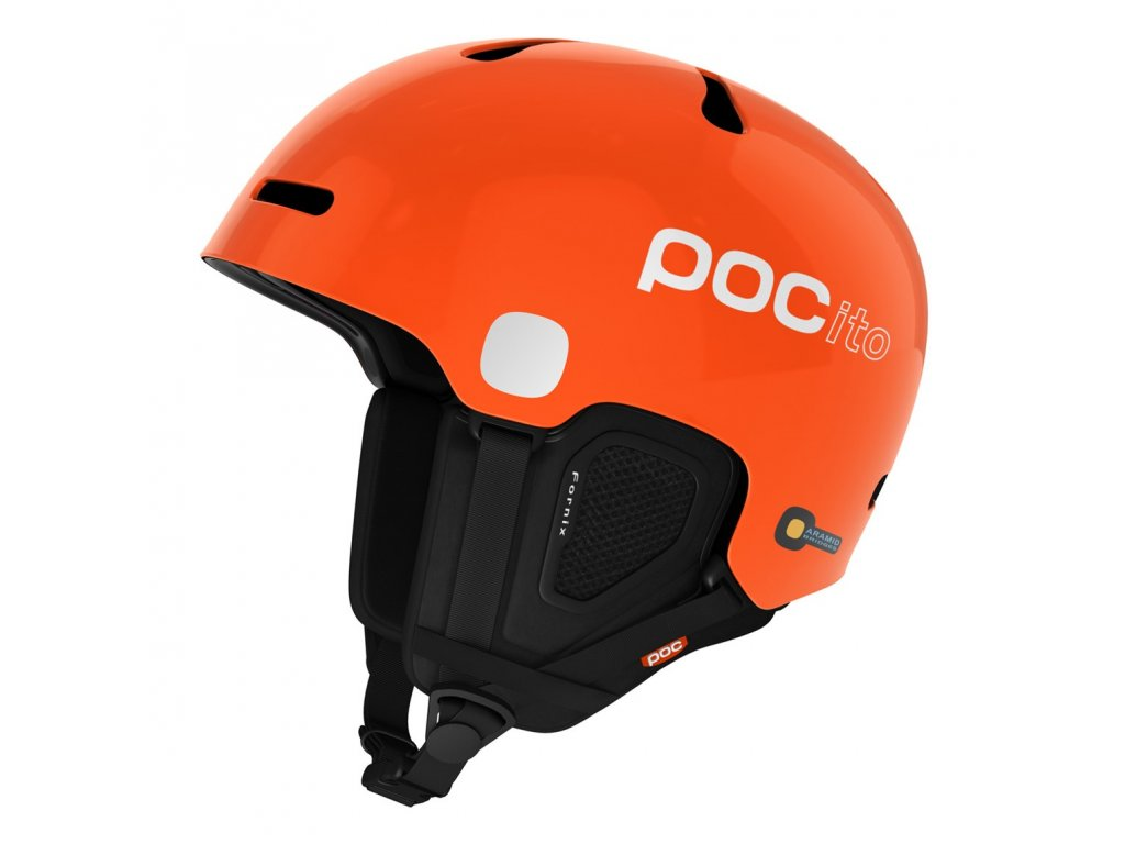 Helma POC POCITO FORNIX, fluorescent orange